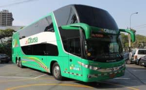Best Bus Companies in Peru - Oltursa Bus