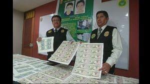 Fake money in Peru