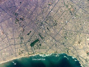 Lima from space