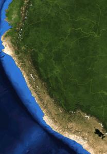 Peru from space