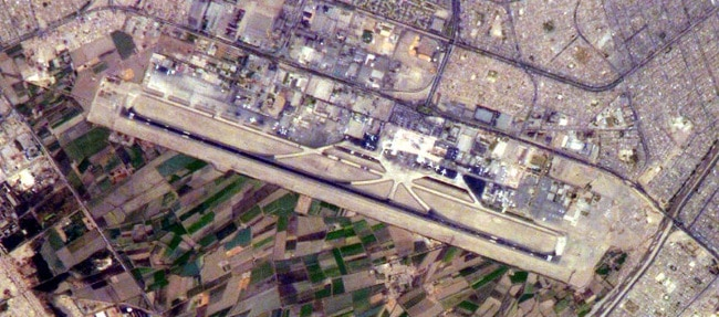 Lima airport ((NASA, Wikimedia Commons)