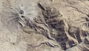 Ubinas Volcano Peru from Space