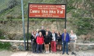 Hiking the Inca Trail to Machu Picchu