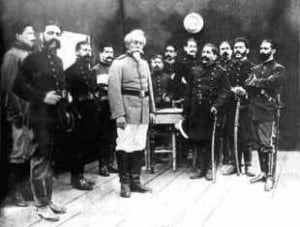 Francisco Bolognesi before the Battle of Arica
