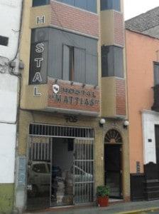 Hostal Mattías in Trujillo