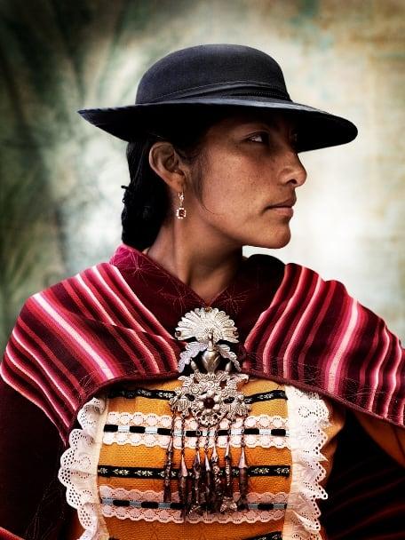 Female traditional dress of Cusco, Peru