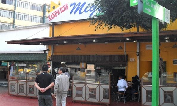 Sandwiches Miguel, Miraflores