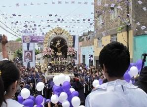 Senor de los Milagros in Lima