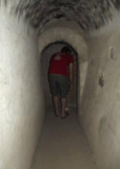 Tunnels beneath Hacienda San Jose in Peru