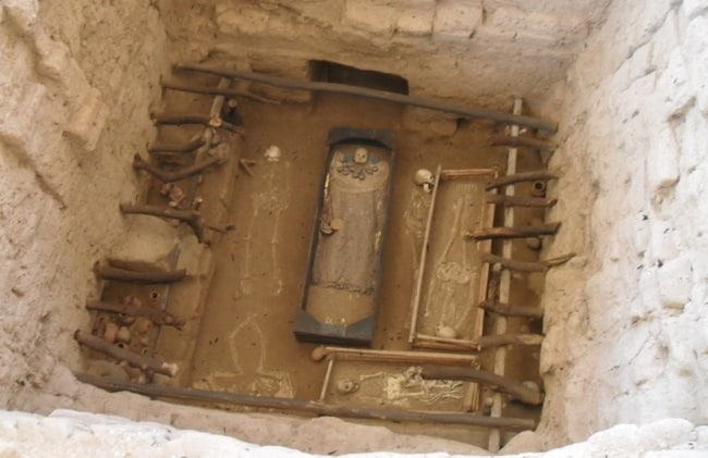 Tomb of the Moche priest