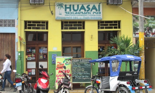 Huasaí Restaurant in Iquitos