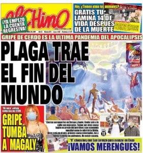 El Chino newspaper of Peru