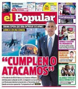 El Popular newspaper