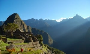 Good time to visit Machu Picchu
