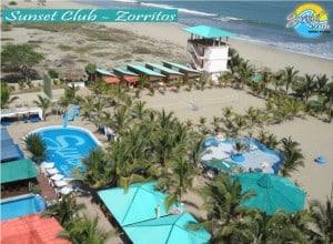 The Sunset Club in Zorritos