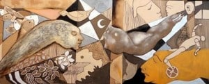Peruvian artist Luis Miguel Portilla Tuesta