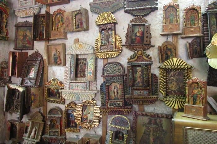 arequipa retablos peru antiques