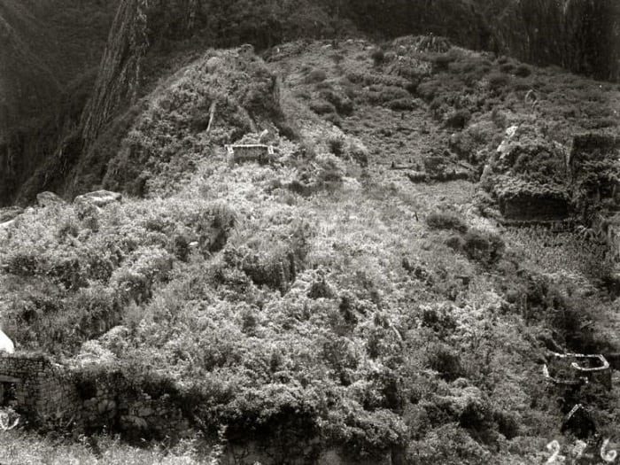 Machu Picchu before excavation