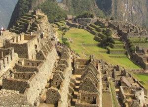 Photo of Machu Picchu in 2015