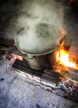 Brewing ayahuasca