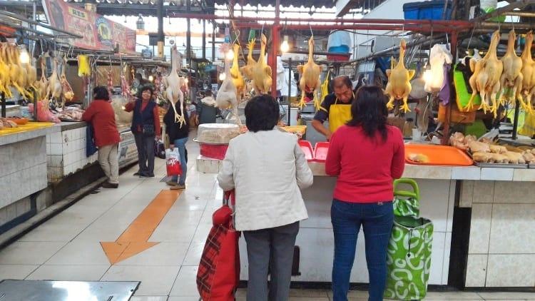 Santa Rosa Market in Callao