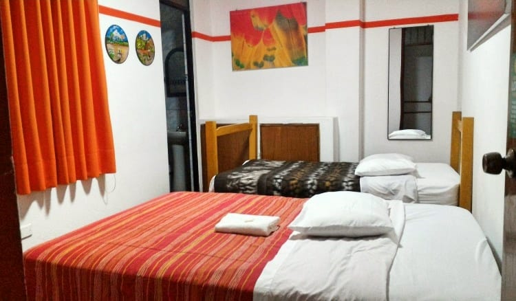 Twin room at Pay Purix
