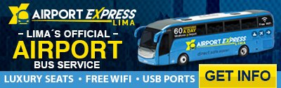 Aiport Express Lima Banner