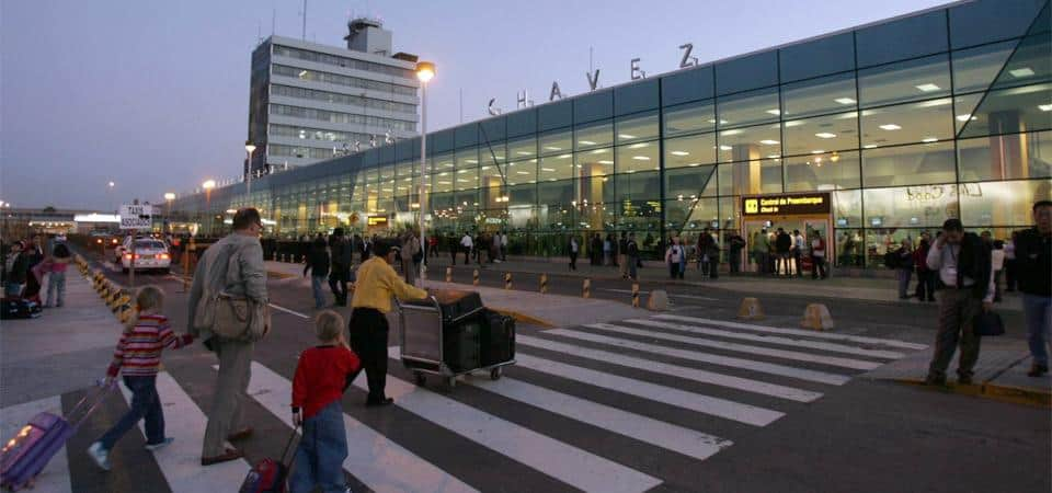 Lima Airport Entrance