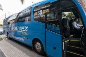 Bus open Airport Express Lima