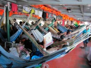 Boat Iquitos - Itinerary Peu