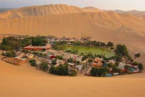 Desert Oasis Huacachina - top 10 must see places Peru