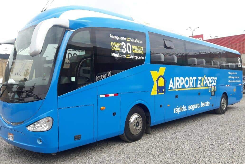 Official Bus Lima Airport - Lima