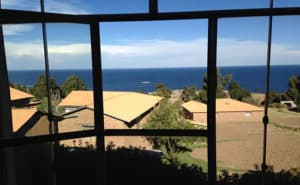 Lake Titicaca Experience - View of the lake from a locals house