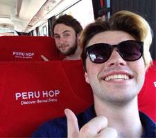 Photo on Peru Hop bus