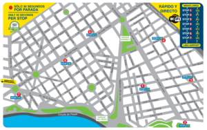 Airport Express Lima new bus route