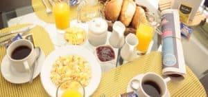 Albergue Verde B&B full continental breakfast