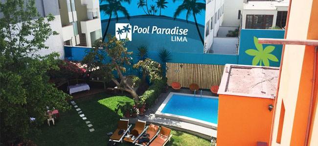 Pool Paradise Lima Hostel Miraflores