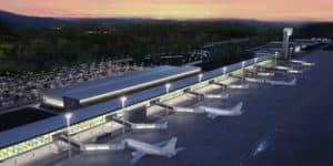 Cusco Airport Guide - 3D image of future Chinchero airport