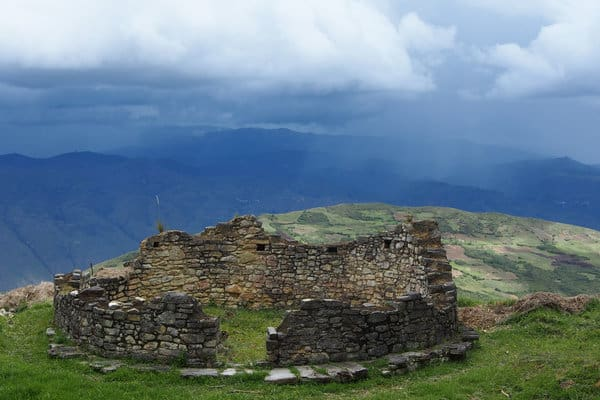 Chachapoyas Ruins at Kuelap Archaeological Site