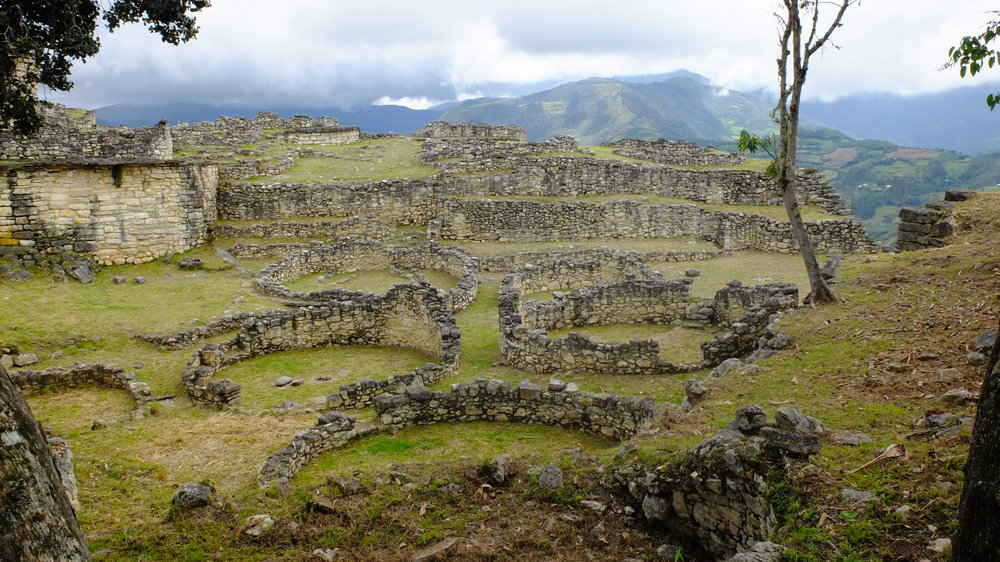 Kuelap Mountaintop Ruins of Chachapoyas Culture in Peru
