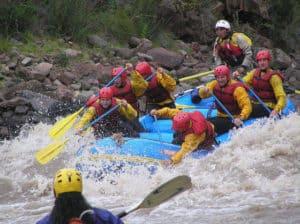 Whitewater Rafting in Peru