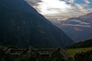 Alternatives to Machu Picchu Choquequirao Sunset in Mountains