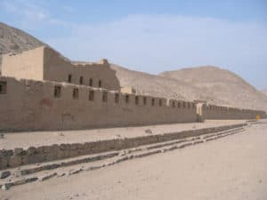 Inca Ruins of Tambo Colorado Outside Pisco Peru