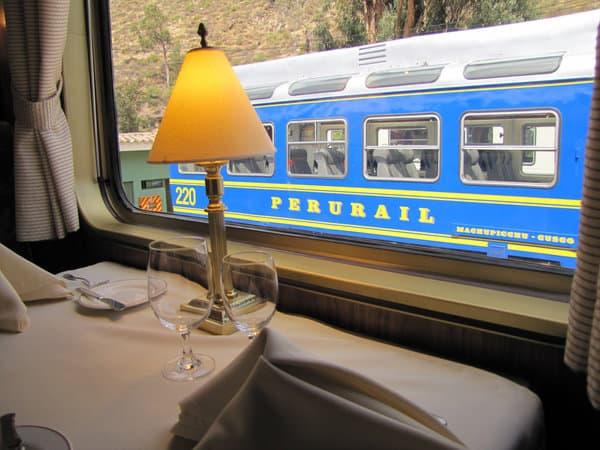 Hiram Bingham Train to Machu Picchu