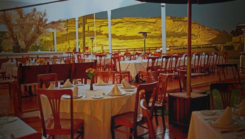Huaca Pucllana Restaurant in Miraflores Lima Peru
