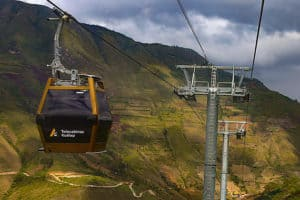 Introducing the New Kuélap Cable Cars