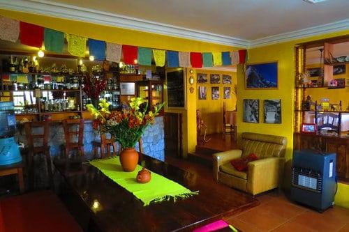 La Casa de Zarela Hostel in Huaraz Peru