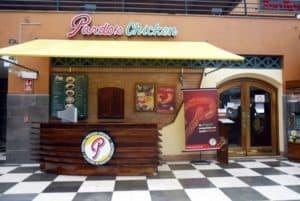 Pardo's Chicken Restaurant in Miraflores Lima Peru