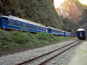 Train to the World Wonder Machu Picchu in Peru