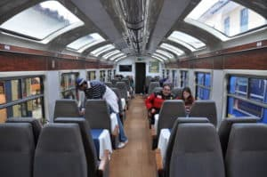 Vistadome Train to Machu Picchu